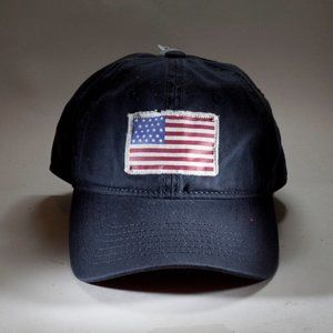 Blue Patriotic American Flag Hat (Youth)